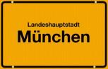 Bodenschutzmatte Ortsschild München 120cm x 76cm