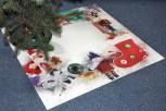 Weihnachtsbaum Unterlage Weihnachtsdeko 97cmx97cm
