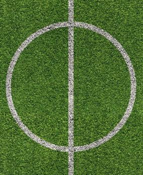 Bodenschutzmatte Fussball 120cm x 90cm