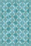 Vinyllteppich Gustav turquoise