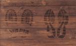 Schuhunterlage Holz 45cm x 75cm