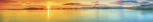 PKW Türschoner Sonnenuntergang 200cm x 30cm